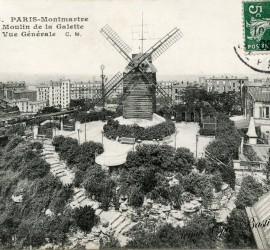 Moulin de la Galette à Montmartre