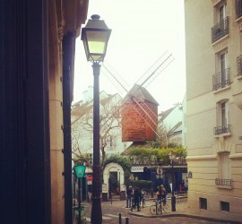 Photo du moulin de la galette